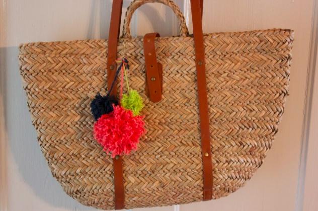 DIY Beach Bag Charm