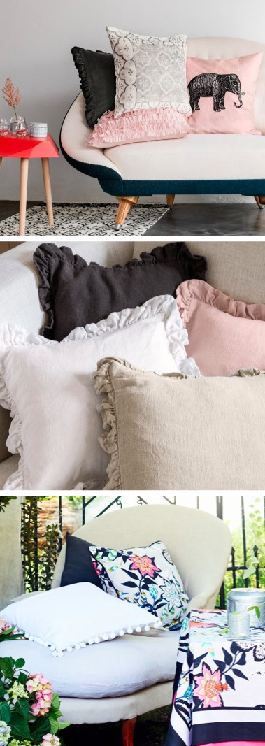 Brighten up your space with new throw pillows