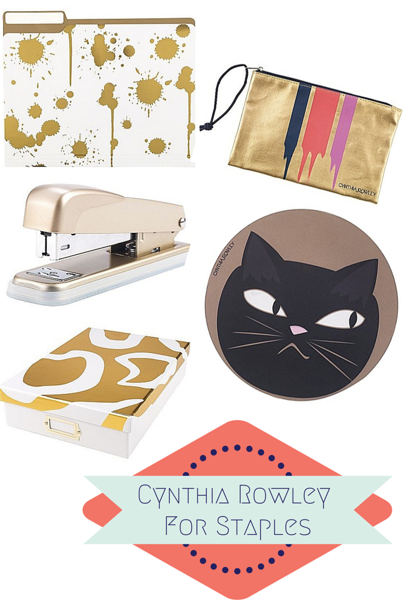 Cynthia Rowley for Staples